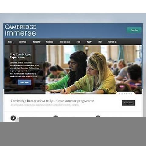 Cambridge Immerse unique summer programme SEO