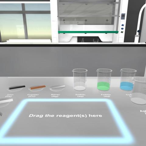 VR Online Learning System For HKBU