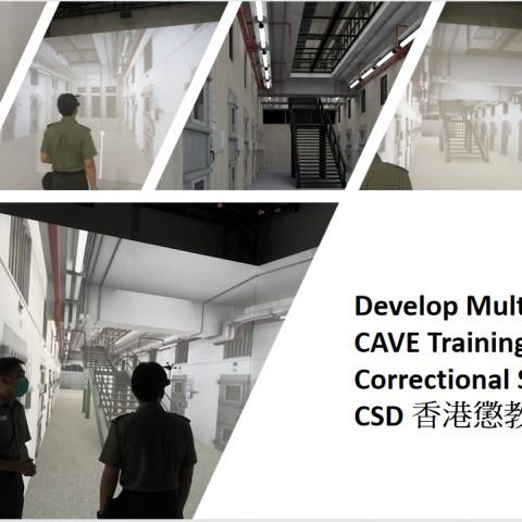 CSD Multi-user VR training System